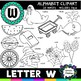 Letter W Clipart - 20 images! - For Commercial and Personal Use