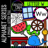 Letter W {Creative Clips Digital Clipart}