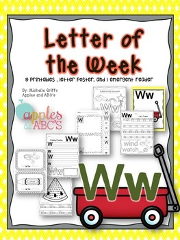 Letter W {Letter of the Week}