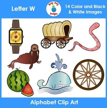 Letter W Phonics Clip Art