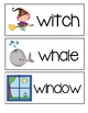 Letter W ~ Picture Word Cards