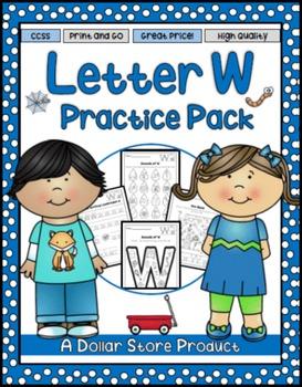 Letter W Practice Printables