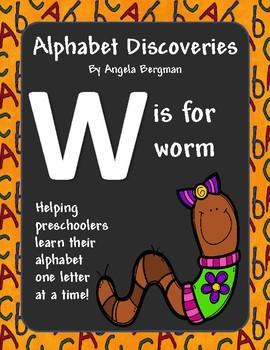 Letter W - Preschool Unit