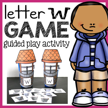 Letter W Sorting Game