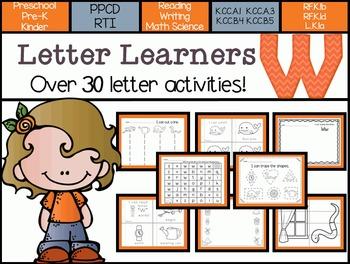 Letter Learners: Letter W