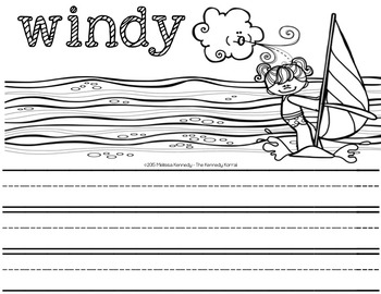 Letter W is for Windy