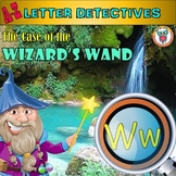 Letter W Worksheets in a Mystery!  Easy prep and Fun Alphabet Activity