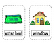 Letter W Write  the Room- Includes 3 levels of answer sheets