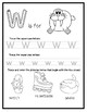 Letter W from the Alphabet Mega Bundle/Letter of the Week