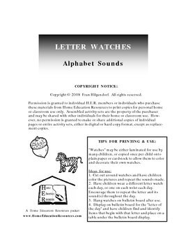 Letter Watches