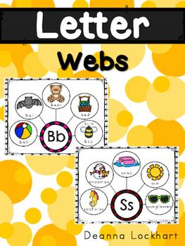 Letter Webs