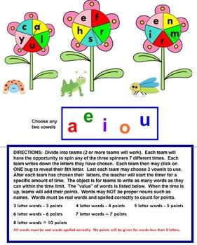 Letter Wheels
