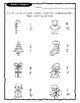 Letter & Word Match CHRISTMAS Worksheets
