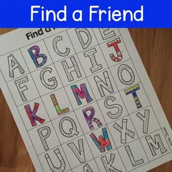 Back to School Kindergarten Print Awareness with Letter Word Sentence Activities