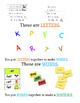 Letter Word Sentence Identification Assessment