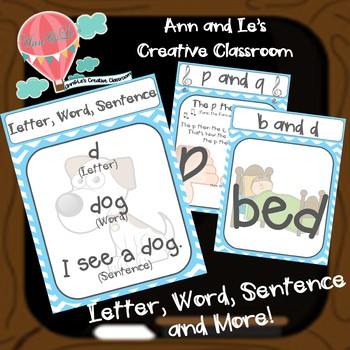 Letter, Word, Sentence and More