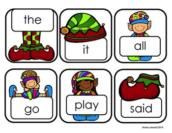 Christmas Letter Word Sentence Sort Print Awareness for Kindergarten