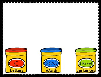 Letter, Word and Sentence Sort Back to School