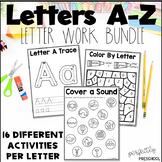 Letter Work Letter Bundle