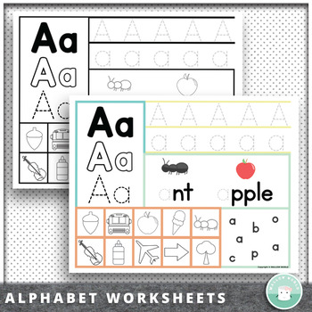 Preschool - Kindergarten Alphabet Recognition Letter Traci