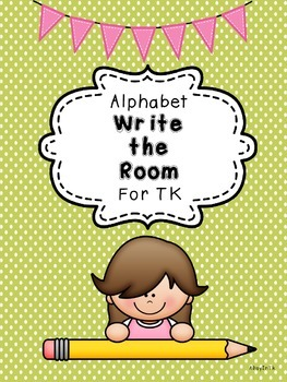 Letter Write the Room for TK