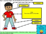 Letter Writing 11 Day Unit: Powerpoint Presentation