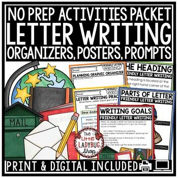 Friendly Letter Writing Unit - 2nd Grade, 3rd Grade, 4th Grade