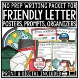 Digital Friendly Letter Writing Prompts, Templates, Graphi