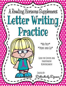 Letter Writing - A Reading Horizons Supplement