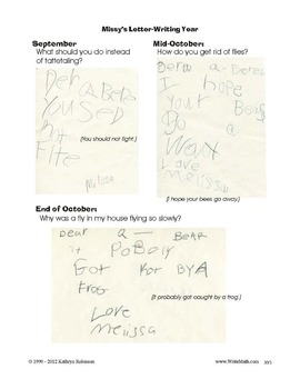 How To Write A Friendly Letter | Kindergarten, 1st, 2nd Grade Writing