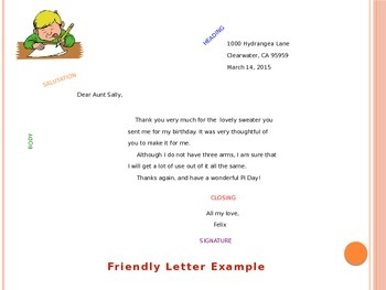 Letter Writing Basics: Friendly and Business Letters