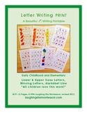 Letter Writing Print