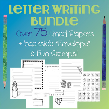 Letter Writing Bundle - A Variety of Lined Papers & More