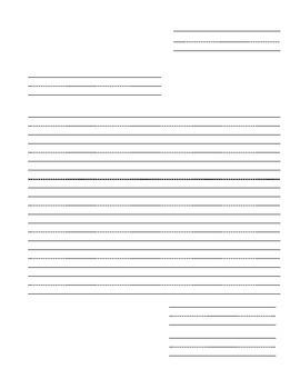Letter Writing Bundle: No Prep