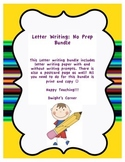 Letter Writing Bundle: No Prep