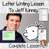 Letter Writing Complete Lesson – Write to the author of Diary of a Wimpy Kid