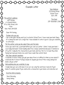 How to write a letter to an author example gallery letter format how to write a letter to the author example choice image letter how to write a spiritdancerdesigns Images