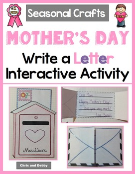 Letter Writing Craft - Mother's Day & Father's Day - Seasonal Crafts