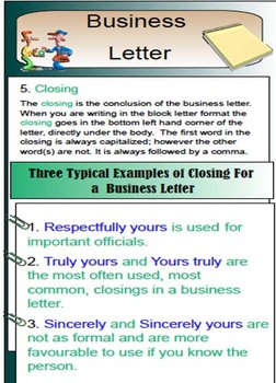 letter writing friendly letter business letter to editor powerpoint