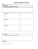 Letter Writing Graphic Organizer