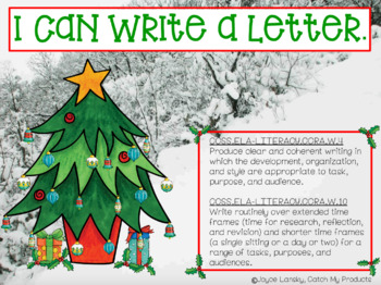 Letter to Santa for PROMETHEAN Board