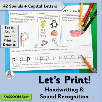 Handwriting ~  Printing practice for upper and lowercase l