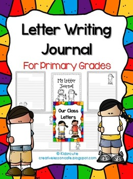 Letter Writing Journal~ Primary Papers and Covers