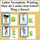 Letter Formation provides handwriting instructions for eac