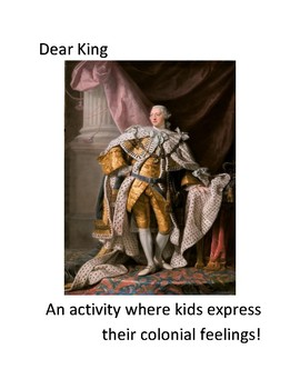 Letter Writing (King of England)