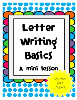 Letter Writing Mini-Lesson Bundle