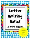 Letter Writing Mini-Lesson Bundle