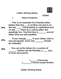 Letter Writing Notes