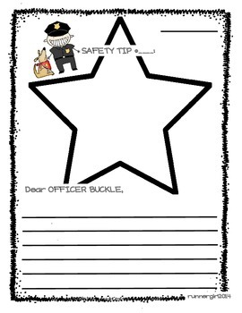 Letter Writing- Officer Buckle & Gloria