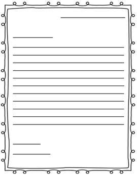 Letter Writing Organizer